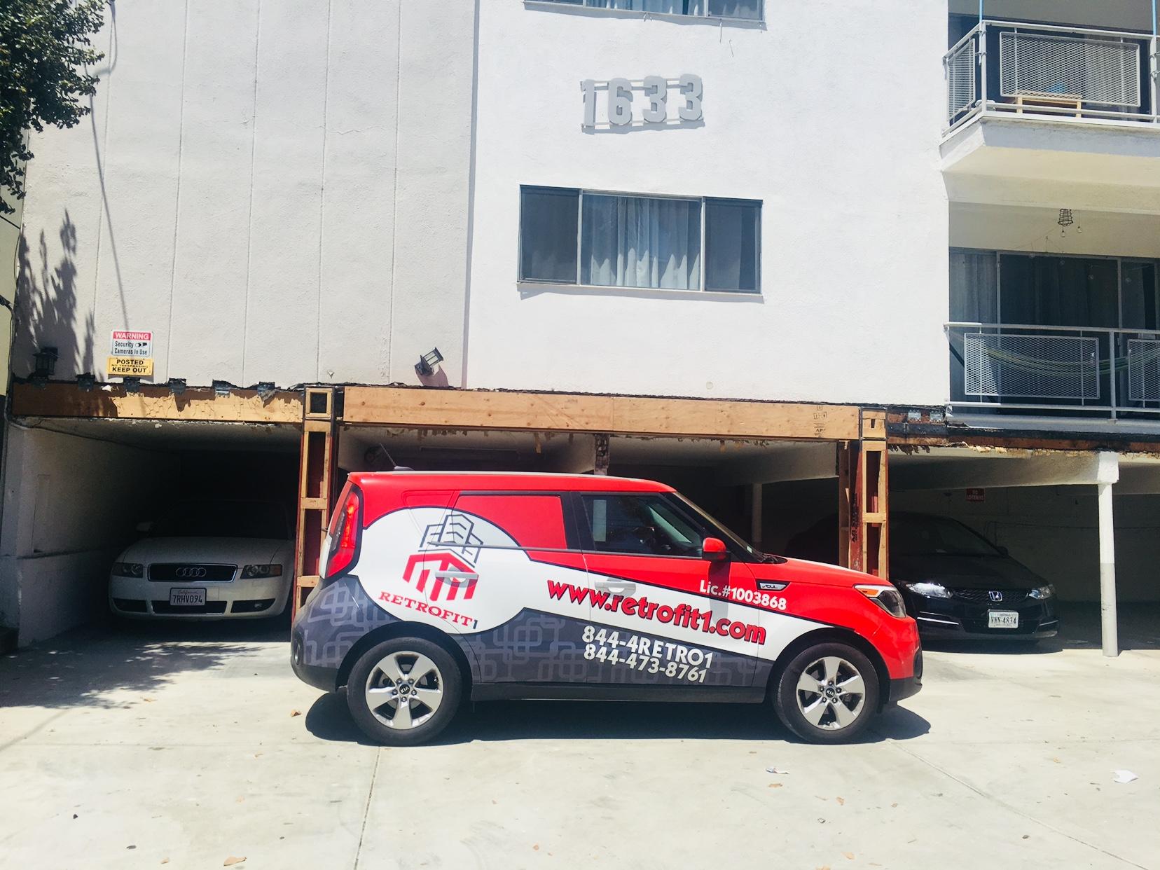 Retrofit1 - Soft Story Retrofitting contractor in Los Angeles.